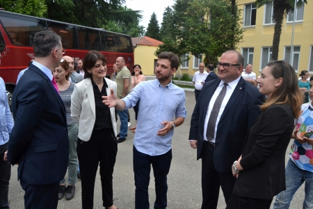 The Vice Prime Minister of Georgia, Minister of Education and Science visited Salibauri Eco-camp